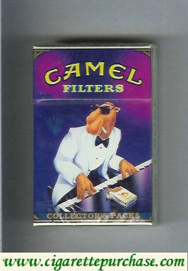 Discount Camel Collectors Packs 9 Filters cigarettes hard box