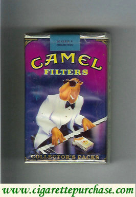 Discount Camel Collectors Packs 9 Filters cigarettes soft box