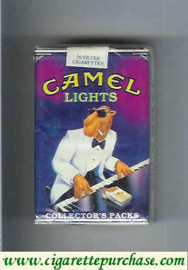 Discount Camel Collectors Packs 9 Lights cigarettes soft box