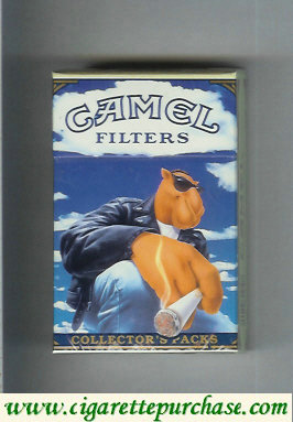 Discount Camel Collectors Packs Filters cigarettes hard box