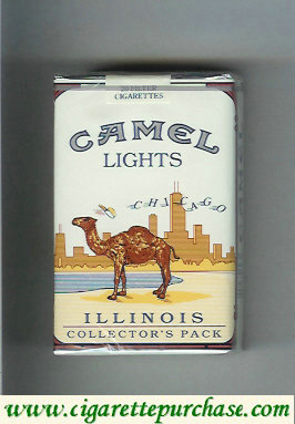 Discount Camel Collectos Pack Illinois Lights cigarettes soft box