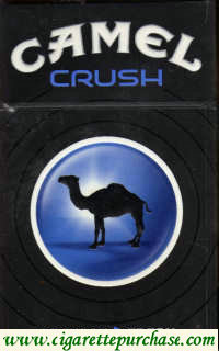 Camel Crush cigarettes hard box