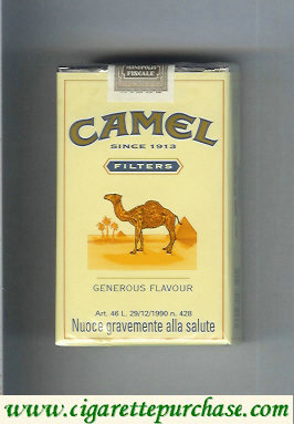 Discount Camel Filter Generous Flavour cigarettes soft box