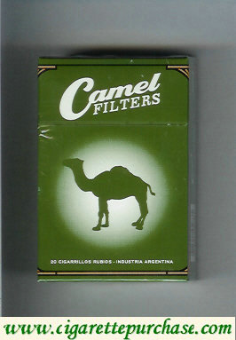 Discount Camel Filters 90 Years cigarettes hard box