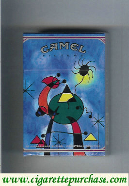 Discount Camel Filters ART Collection cigarettes hard box