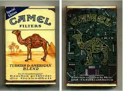 Discount Camel Filters Special Edition CAMELWORLD Computer cigarettes hard box