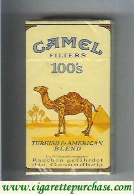 Discount Camel Filters 100s cigarettes Long size hard box