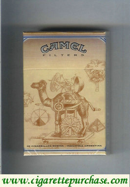 Discount Camel Filters cigarettes collection version ART Collection hard box