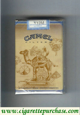Camel Filters cigarettes collection version ART Collection soft box
