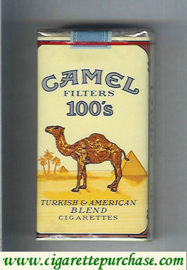 Camel Filters 100s cigarettes soft box