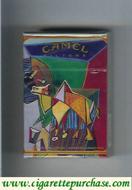 Camel Filters collection version ART Collection cigarettes hard box