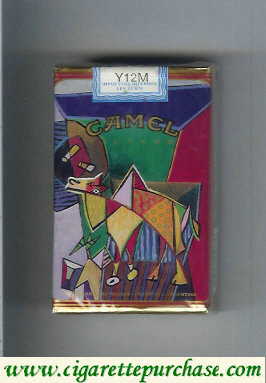 Discount Camel Filters collection version ART Collection cigarettes soft box