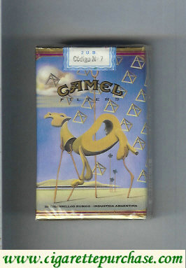 Discount Camel Filters collection version ART Collection soft box cigarettes