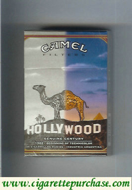 Discount Camel Genuine Century 1922 Filters cigarettes hard box
