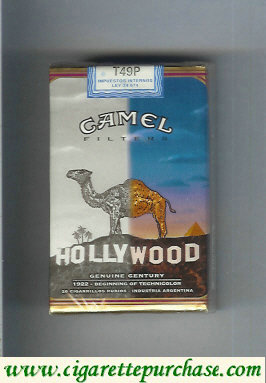 Discount Camel Genuine Century 1922 Filters cigarettes soft box