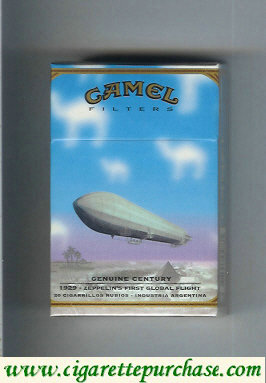 Discount Camel Genuine Century 1929 Filters cigarettes hard box