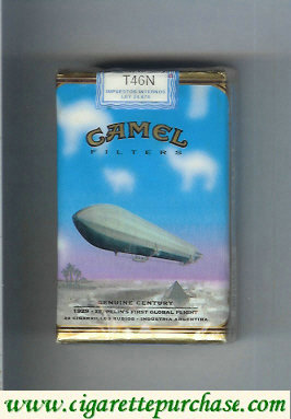 Discount Camel Genuine Century 1929 Filters cigarettes soft box