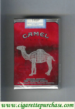 Discount Camel Genuine Century 1993 Filters cigarettes soft box
