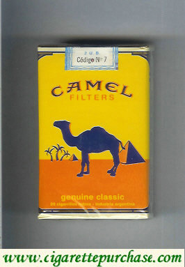 Discount Camel Genuine Classic Filters cigarettes soft box