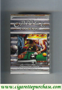 Discount Camel Genuine Taste Filters Genuine Nights cigarettes hard box