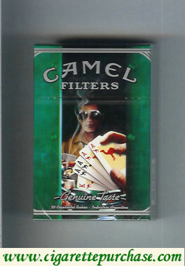 Discount Camel Genuine Taste Filters Genuine Nights hard box cigarettes
