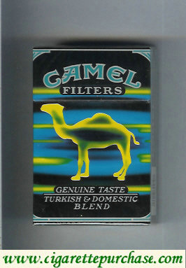 Discount Camel Genuine Taste Turkish  Domestic Blend Filters cigarettes hard box