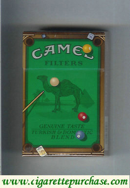 Camel Genuine Taste Turkish Domestic Blend Filters collection version cigarettes hard box
