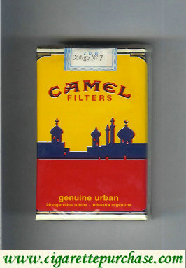 Discount Camel Genuine Urban Filters cigaettes soft box