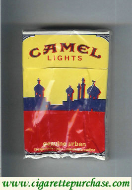 Discount Camel Genuine Urban Lights cigarettes hard box