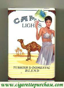 Discount Camel Lights Casino Issue side slide cigarettes hard box