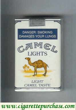 Discount Camel Lights Light Camel Taste cigarettes soft box