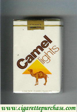 Camel Lights Low Tar Camel Quality cigarettes soft box