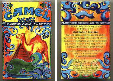 Camel Lights Smokers Pack Designs Volume 2 cigarettes hard box