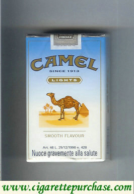 Discount Camel Lights Smooth Flavour cigarettes soft box