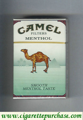 Discount Camel Menthol Filters Smoosh Menthol Taste cigarettes hard box