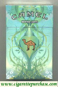 Discount Camel Menthol Lights Art Issue cigarettes hard box