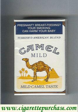 Discount Camel Mild  Mild Camel Taste cigarettes hard box
