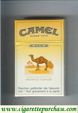 Discount Camel Mild Balanced Flavour cigarettes hard box