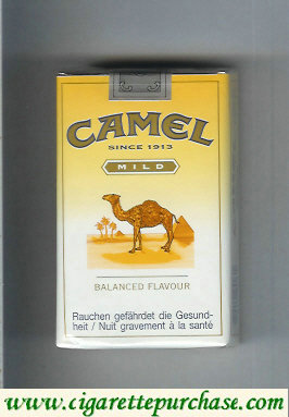 Discount Camel Mild Balanced Flavour cigarettes soft box