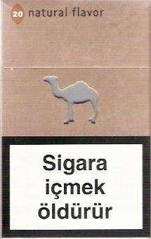 Discount Camel Natural Flavour cigarettes hard box
