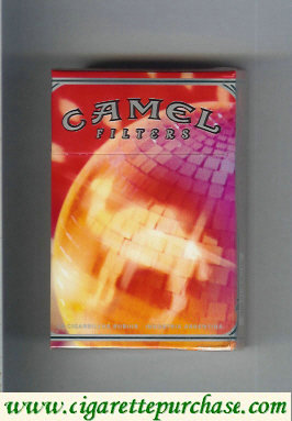 Discount Camel Night Collectors Disco Music Filters cigarettes hard box