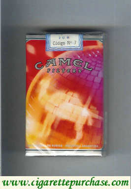 Discount Camel Night Collectors Disco Music Filters cigarettes soft box