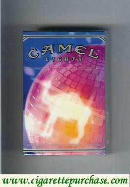 Discount Camel Night Collectors Disco Music Lights cigarettes hard box
