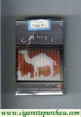Discount Camel Night Collectors Electronica Filters cigarettes soft box