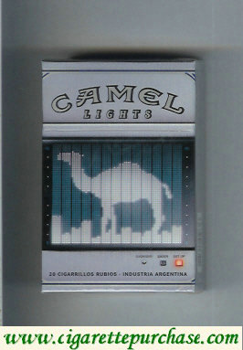 Discount Camel Night Collectors Electronica Lights cigarettes hard box