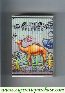Discount Camel Night Collectors Hip Hop Filters cigarettes hard box