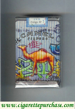Discount Camel Night Collectors Hip Hop Filters cigarettes soft box