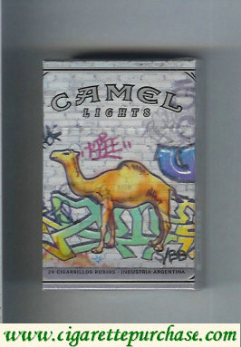 Discount Camel Night Collectors Hip Hop Lights cigarettes hard box