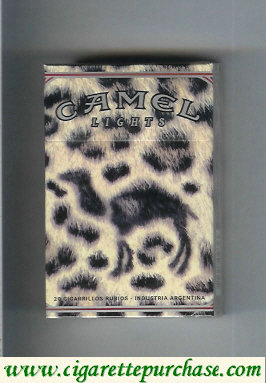 Discount Camel Night Collectors Lounge Lights cigarettes hard box