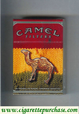 Discount Camel Night Collectors Reggae Filters cigarettes hard box